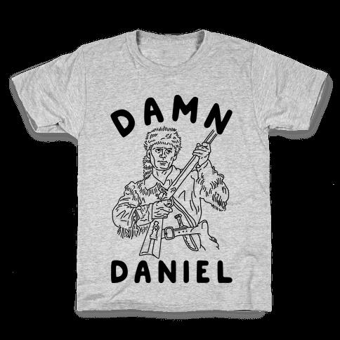 Damn Daniel Boone Kids T-Shirt