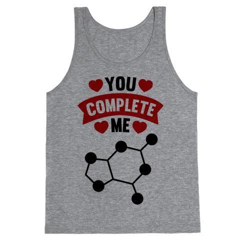 You Complete Me (RNA G & C) Tank Top