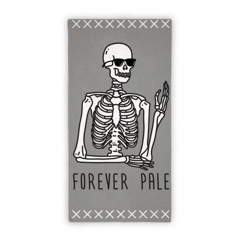 Forever Pale (Towel) Beach Towel
