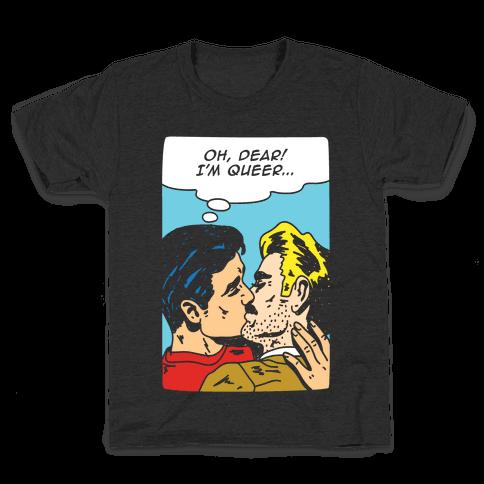 Oh Dear I'm Queer Kids T-Shirt