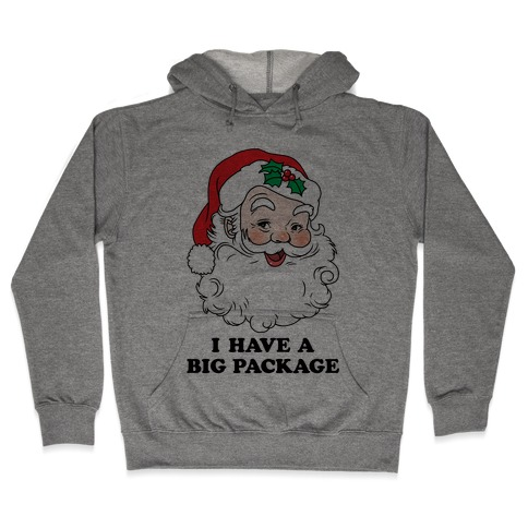 Santa's Package Hooded Sweatshirt