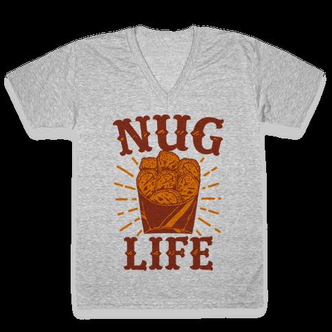 Nug Life V-Neck Tee Shirt