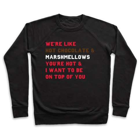 Hot Chocolate & Marshmellows Pullover