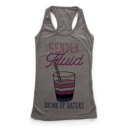 Gender Fluid Racerback Tank Top