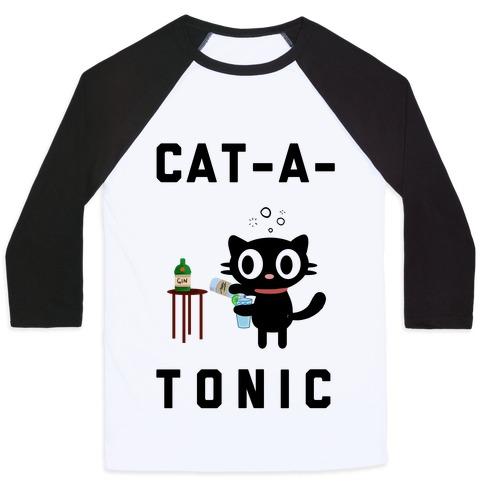 Cat-A-Tonic Baseball Tee