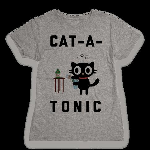 Cat-A-Tonic Womens T-Shirt