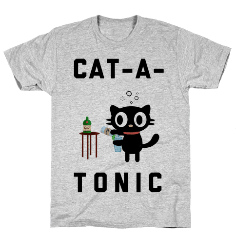 Cat-A-Tonic Mens T-Shirt