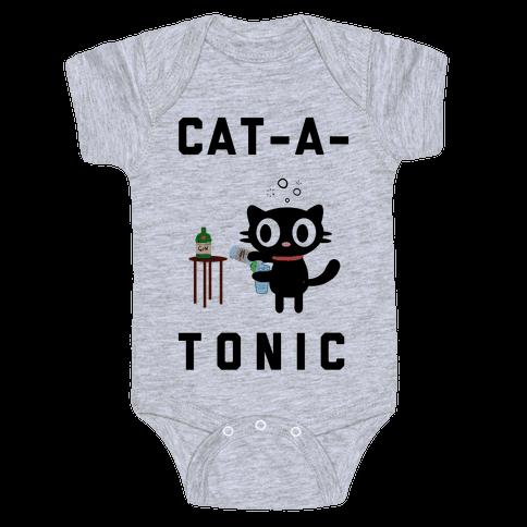 Cat-A-Tonic Baby Onesy