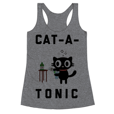 Cat-A-Tonic Racerback Tank Top