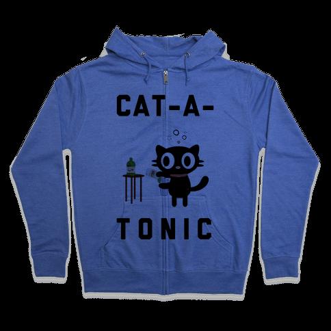 Cat-A-Tonic Zip Hoodie