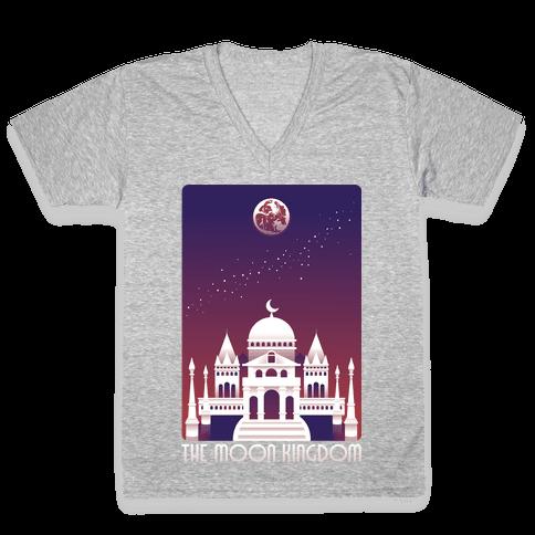 The Moon Kingdom V-Neck Tee Shirt