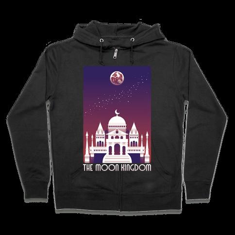 The Moon Kingdom Zip Hoodie