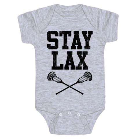 Stay Lax (Vintage) Baby Onesy