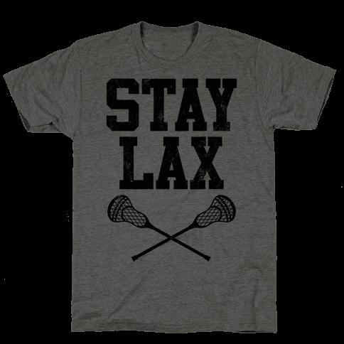 Stay Lax (Vintage) Mens T-Shirt