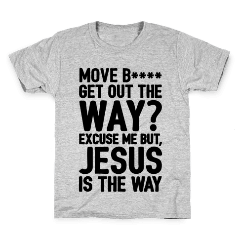 Jesus Is The Way Kids T-Shirt