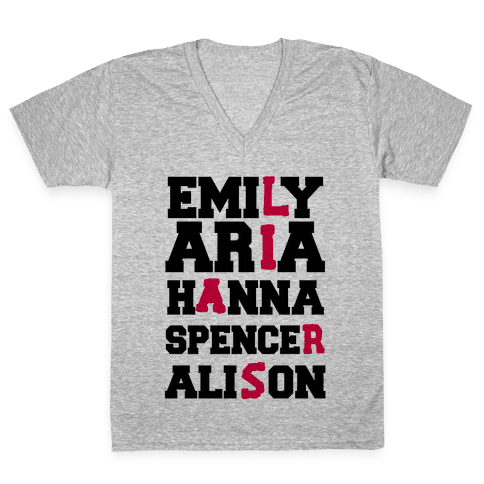 The Liars V-Neck Tee Shirt
