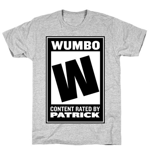 "Rated W for ""Wumbo"" Mens T-Shirt"