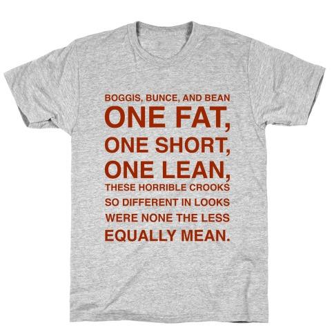 Boggis, Bunce, And Bean T-Shirt