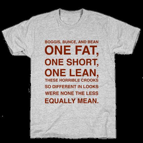 Boggis, Bunce, And Bean Mens T-Shirt