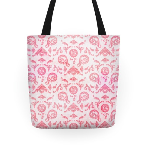 Female Toile Tote