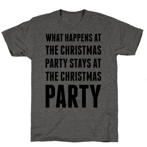 Christmas Party Mens/Unisex T-Shirt