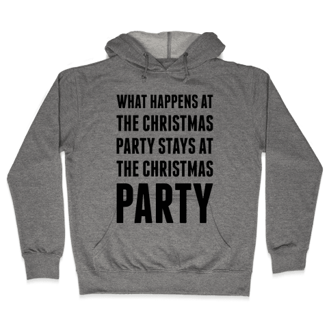 Christmas Party Hooded Sweatshirt