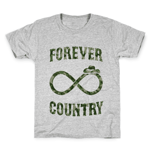 Forever Country (camo) Kids T-Shirt