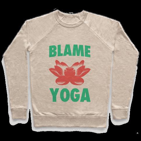 Blame Yoga Pullover
