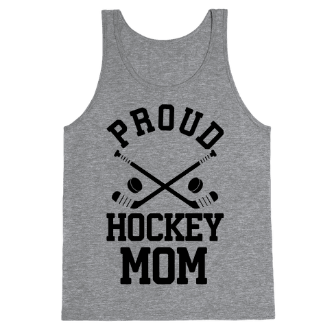 Proud Hockey Mom Tank Top