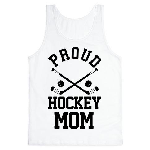 Proud Hockey Mom Tank Top