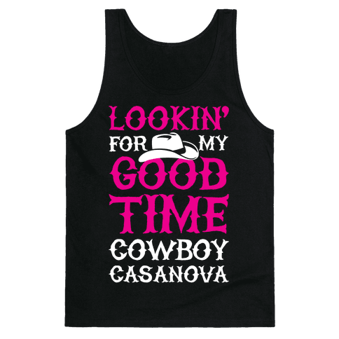 Cowboy Casanova Tank Top