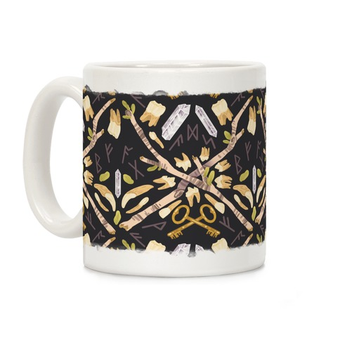 Occult Divination Pattern Coffee Mug