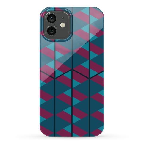 Triangle Pattern Case (Dark) Phone Case