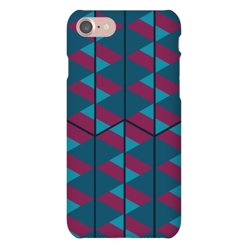 Triangle Pattern Case (Dark) Phone Case