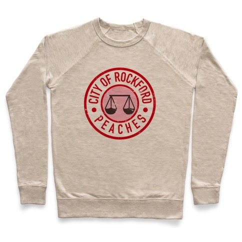 City Of Rockford Peaches Pullover