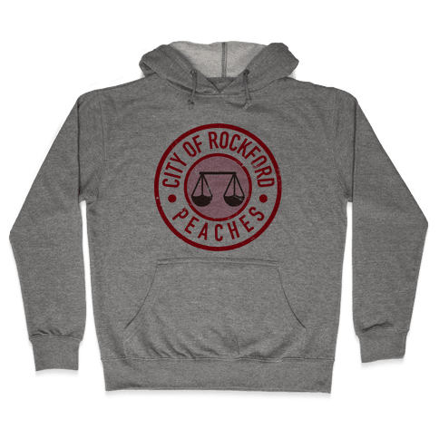 City Of Rockford Peaches Hooded Sweatshirt