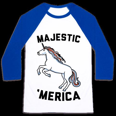 Majestic 'Merica Baseball Tee