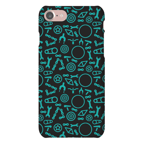 Bike Parts Pattern Phone Case
