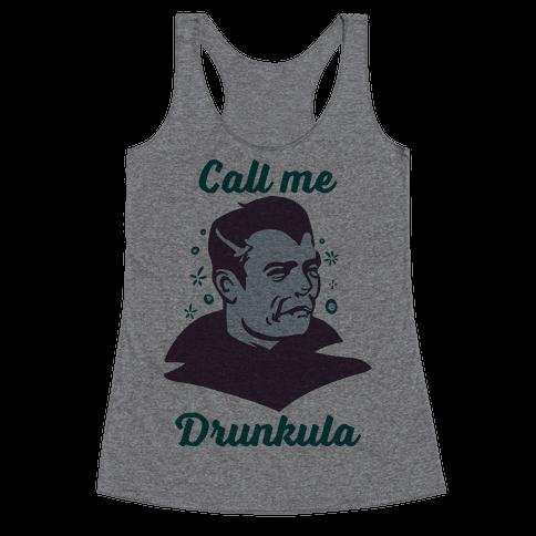 Drunkula Racerback Tank Top