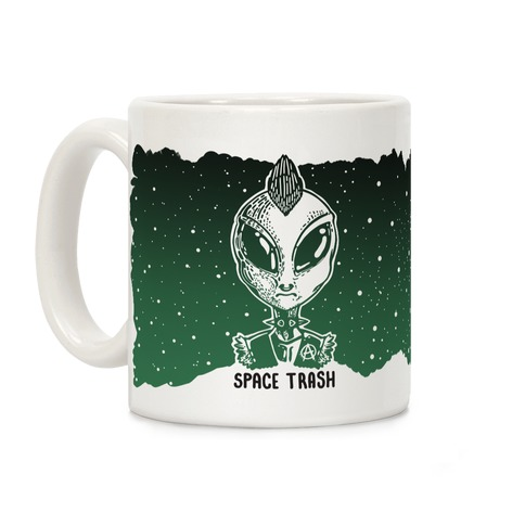 Space Trash Coffee Mug