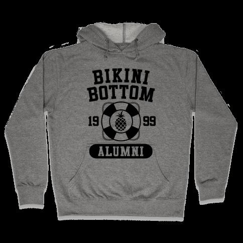 Bikini Bottom Alumni Hooded Sweatshirt