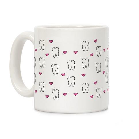 Tooth Pattern Coffee Mug