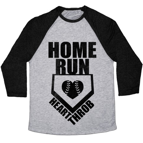 Home Run Heart Throb (Baseball Tee) Baseball Tee