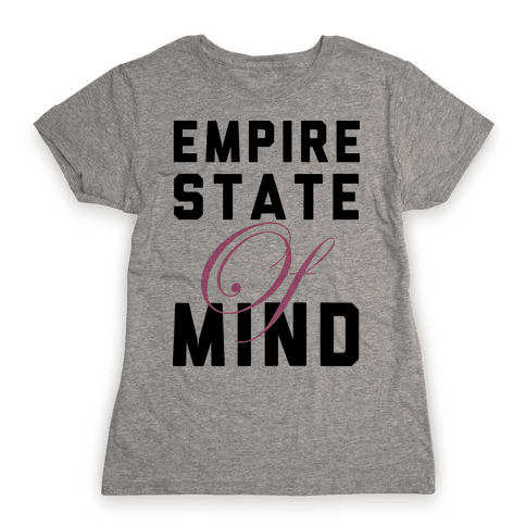 Empire State Of Mind Womens T-Shirt