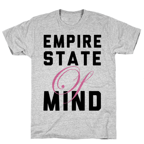 Empire State Of Mind Mens T-Shirt