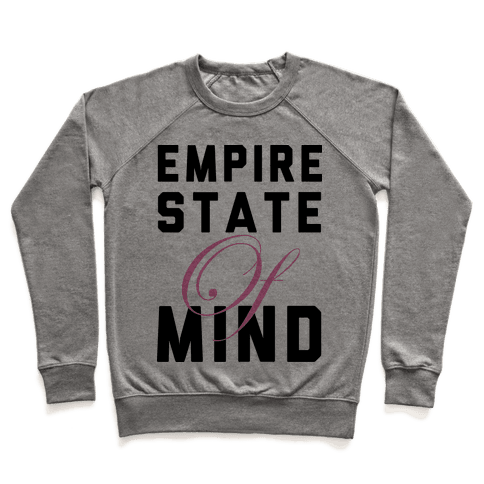 Empire State Of Mind Pullover