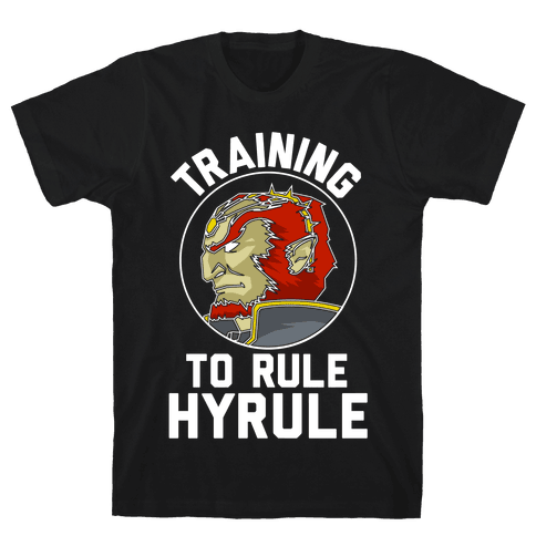 Training To Rule Hyrule Mens T-Shirt