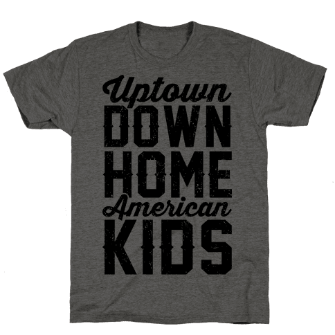Uptown Downhome American Kids Mens T-Shirt