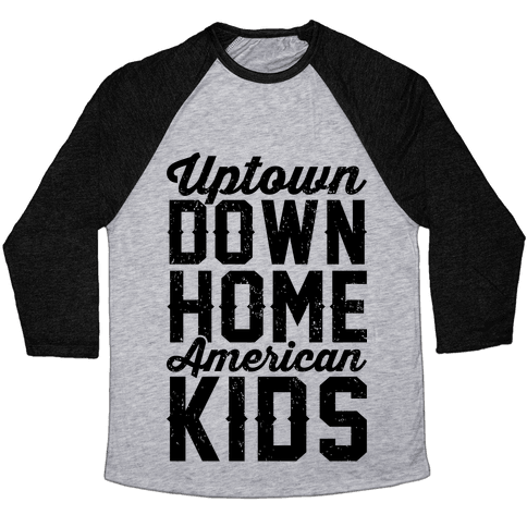 Uptown Downhome American Kids Baseball Tee