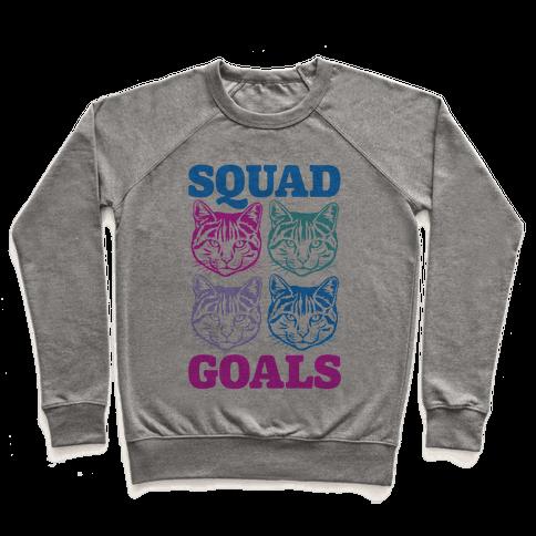 Cat Squad Goals Pullover